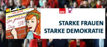 Bild zu: Starke Frauen - starke Demokratie